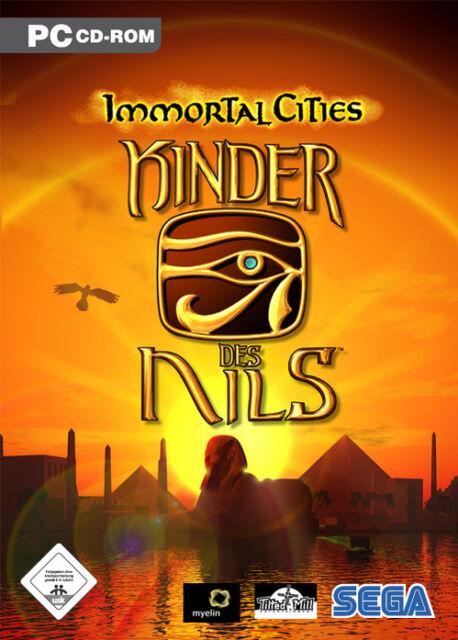 Immortal Cities - Kinder des Nils (PC, 2005, DVD-Box)