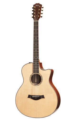 taylor baritone 8 string acoustic guitar for sale online ebay. Black Bedroom Furniture Sets. Home Design Ideas