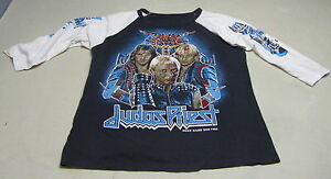 Judas-Priest-Rock-Hard-Ride-Free-Vintage-Long-Arm-T-Shirt