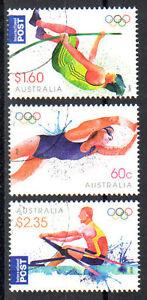 AUSTRALIA-2012-LONDON-2012-OLYMPICS-SET-OF-THREE-FINE-USED