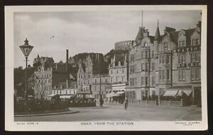 Scotland-Argyllshire-OBAN-From-The-Station-1907-RP-PPC