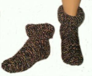 Sloppy-Joe-design-Slipper-Knitting-Pattern-Instructions-to-make-by-Knitwitz