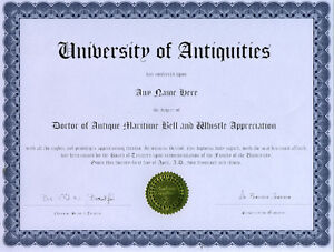Doctor-Antique-Maritime-Bell-and-Whistle-Lover-Diploma