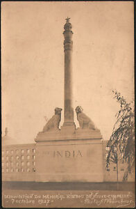 NEUVILLE-CHAPELLE-62-INAUGURATION-du-MEMORIAL-HINDOU-BRITISH-INDIAN-ARMY-1927