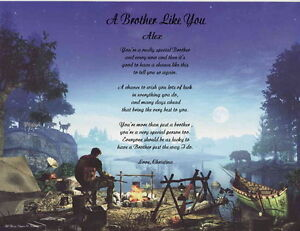 Brother-Personalized-Poem-Gift-for-Father-039-s-Day-or-Brithday-18-DESIGNS