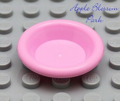 NEW Lego Friends/Belville PINK DISH City Minifig Kitchen Food Utensil Bowl Plate