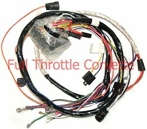 1964 corvette wiring harness 1975 corvette wiring harness