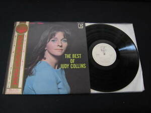 Judy-Collins-The-Best-of-Japan-Promo-White-Label-Vinyl-LP-with-OBI-1967-Dylan