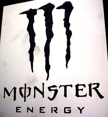 high detail airbrush stencil monster FREE UK POSTAGE