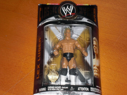 JAKKS Figur MIB Classic Brawler Nasty Razor Luger WWE Ruthless Aggr Big Show wwf
