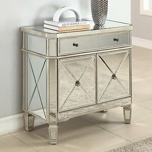 MIRRORED-MIRROR-HOLLYWOOD-FURNITURE-DRESSER-BEDROOM-NIGHTSTAND
