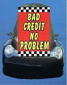 under hood sign bad credit no problem ebay