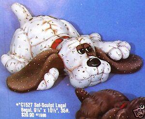 Ceramic Bisque Dog Soft Sculpt Legal Begal Ceramichrome 1527 Ready To Paint