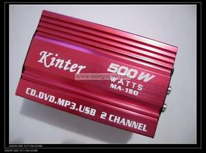 500W-Car-2-Channel-Mini-Amplifier-AMP-for-Mp3-MP4-iPod-Brand-New