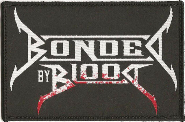 """Bonded By Blood """"Logo"""" Woven Patch - OFFICIAL"""
