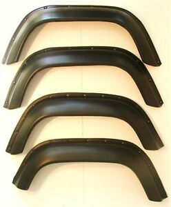 LAND-ROVER-DEFENDER-90-110-130-WHEEL-ARCH-EXTRA-WIDE-SPATS-UNBREAKABLE