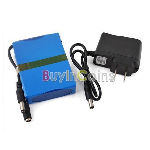 12V Rechargeable Li-po Battery for CCTV Cam 6800mAh #2 SA