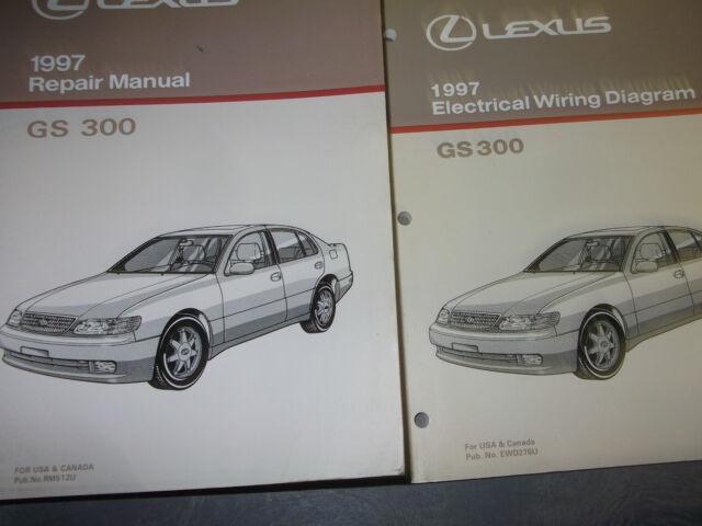1997 Lexus Gs 300 Gs300 Service Shop Repair Workshop Manual Oem Set W Ewd