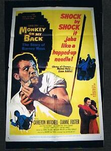 RARE-old-Barney-Ross-large-movie-boxing-poster-Jewish-Champion