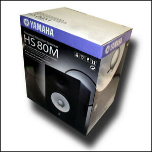 Yamaha-HS80M-Powered-2-way-Studio-Monitor-8-Woofer-and-1-Tweeter-BRAND-NEW