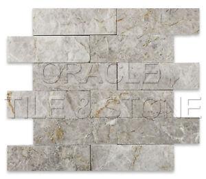 2-X-6-Silverado-Gray-Marble-Split-Faced-Mosaic-Tile