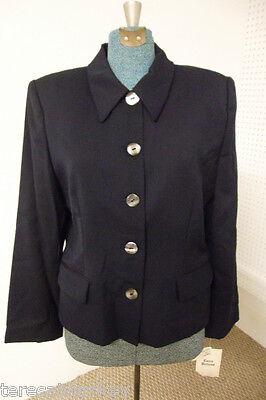 Womens Navy Blazer Jacket 4 8 10 14 16 18 20 24 28 NWT NEW