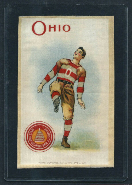 S22 SMALL MURAD TOBACCO SILK OHIO STATE FOOTBALL