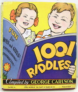 1001-Riddles-for-Children-by-George-Carlson-1949