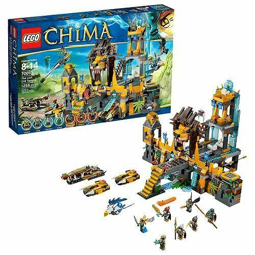 Lego legends of chima the lion chi temple 70010 for sale online ebay - Lego chima a colorier ...