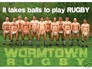 Men-039-s-Rugby-Ball-Poster-034-it-takes-Balls-to-play-RUGBY-034