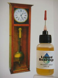 Liquid-Bearings-ULTIMATE-synthetic-grandfather-clock-oil-PLEASE-READ