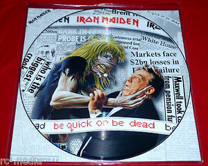 IRON-MAIDEN-Be-Quick-Or-Be-Dead-Rare-12-034-Picture-Disc