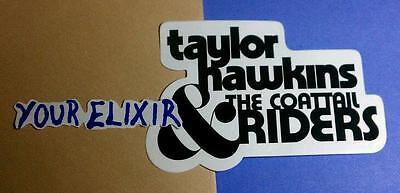 TAYLOR HAWKINS & THE COATTAIL RIDERS FOO FIGHTERS JANE'S ADDICTION CASE Sticker