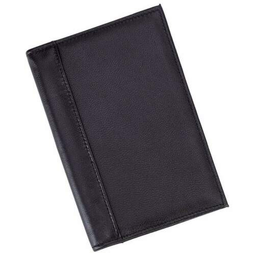 New Genuine Leather Passcase Passport ID Wallet Travel Credit Card Cover/Holder!