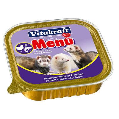 VITAKRAFT Delicatessen Menu 0.2205 Pound Ferret Wet Food