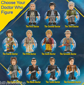 Doctor-Who-Character-Building-Micro-Figures-YOU-CHOOSE-LEGO-DR-Mini-fig-Tennant