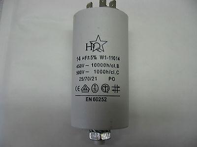 Starting Engine 14mf 14µf 14uf 450v 5% Honest Condo Capacitor Permanent