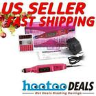 Pen Shape Electric Nail Art File Drill Tool + 6 Bits Variable Speed Rotary
