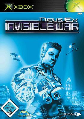 Deus Ex: Invisible War (Microsoft Xbox, 2003, DVD-Box)