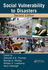 Social Vulnerability to Disasters, Second Edition by Taylor & Francis Inc (Hardback, 2013)