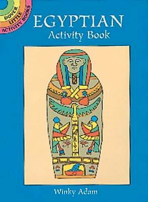 Egyptian Activity Book (Dover Little Activity Books) by Winky Adam