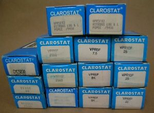 Lot-of-14-Resistors-Clarostat-5-10-20-50-watts-New