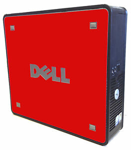 LidStyles-RED-Vinyl-Skin-Decal-fits-Dell-Optiplex-740-745-755-760-780-790-SFF