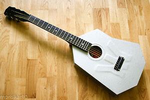 AMAZING-RARE-ALUMINIUM-METAL-BODY-Soviet-URAL-USSR-Vintage-Acoustic-Guitar-70s