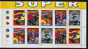 Canada 1583b Booklet BK185b MNH Comic Book SuperHeros