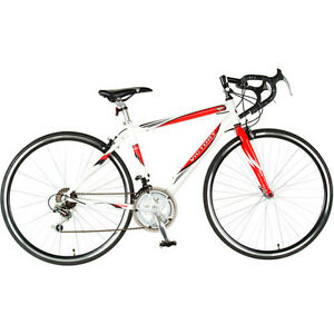 56cm-white-mens-womens-12-speed-shimano-road-bicycle-bike-ovestock-sale
