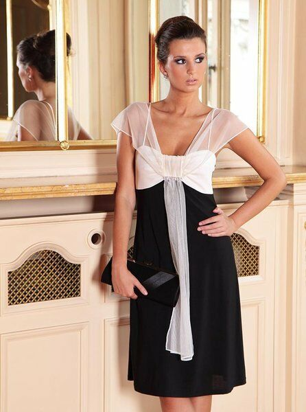 Ladies Cocktail Party Evening Wedding Classic Prom Bridesmaid Dress 8 - 22