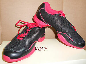 NEW-Dance-Sneakers-BLOCH-SO521L-Black-RED-GREAT-ZOOMBA-ZUUMBA-ZUMMBA-FLASH-Shoes