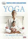 Yoga for Mother and Child (DVD, 2012, 3-Disc Set)