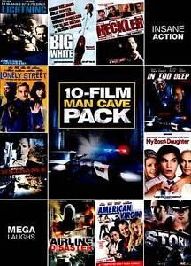 10-Movie Man Cave Pack 4 DVD